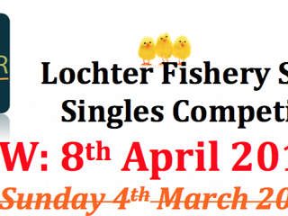 Spring Singles Fishing Competition to Reschedule